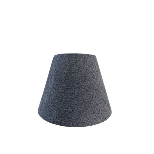 Coned shape small lamp shade