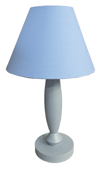 Bluelamp and lamp shade
