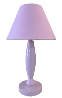 Pink Lamp shade and stand