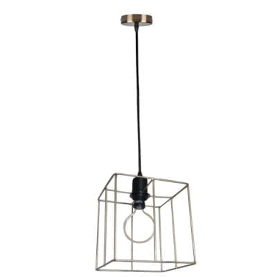 Wire Frame Pendant Lights