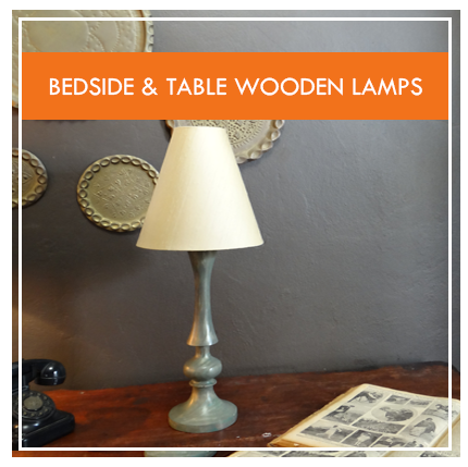 Wooden Lamp Stands