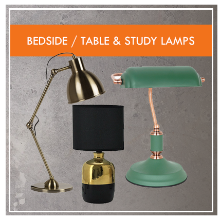 Bedside-Table & Study Lamps