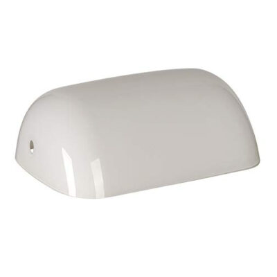 Replacement Glass Bankers Lamp Shade Cover for Desk Lamp