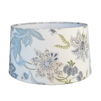 Medium Tapered Drum Lamp Shade with Polycotton Fabric