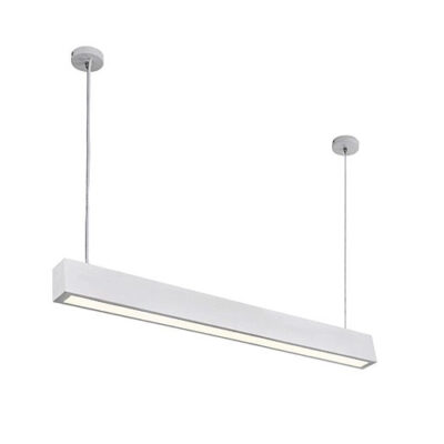 LED Metal and Polycarbonate Pendant